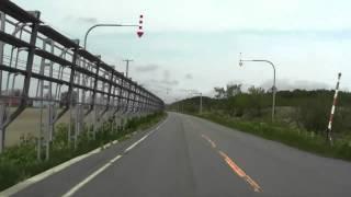 幌延町雄興~幌延町市街地 道道256号