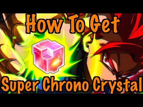 HOW TO GET A SUPER CHRONO CRYSTAL | DRAGON BALL LEGENDS