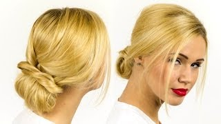 Easy Elegant Updo Tutorial - Become Gorgeous