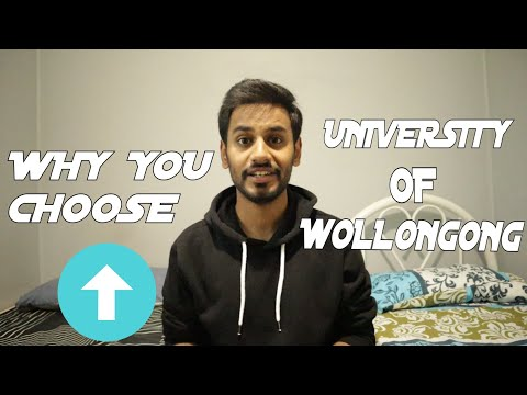 WHY YOU CHOOSE UNIVERSITY OF WOLLONGONG?