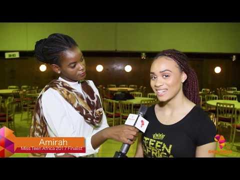 Show Africa TV BTS of Miss Teen Africa UK 2017 bootcamp