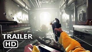 PS4 - Wolfenstein 2 Trailer (2017)