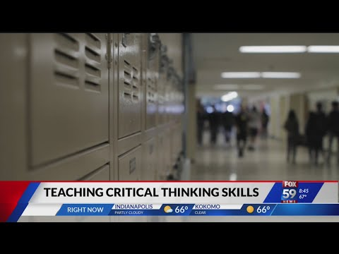 Teaching critical thinking skills in our nation's schools