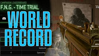 10.6 SECONDS FNG - TRIAL MODERN WARFARE REMASTERED #1 WORLD RECORD! @InfinityWard