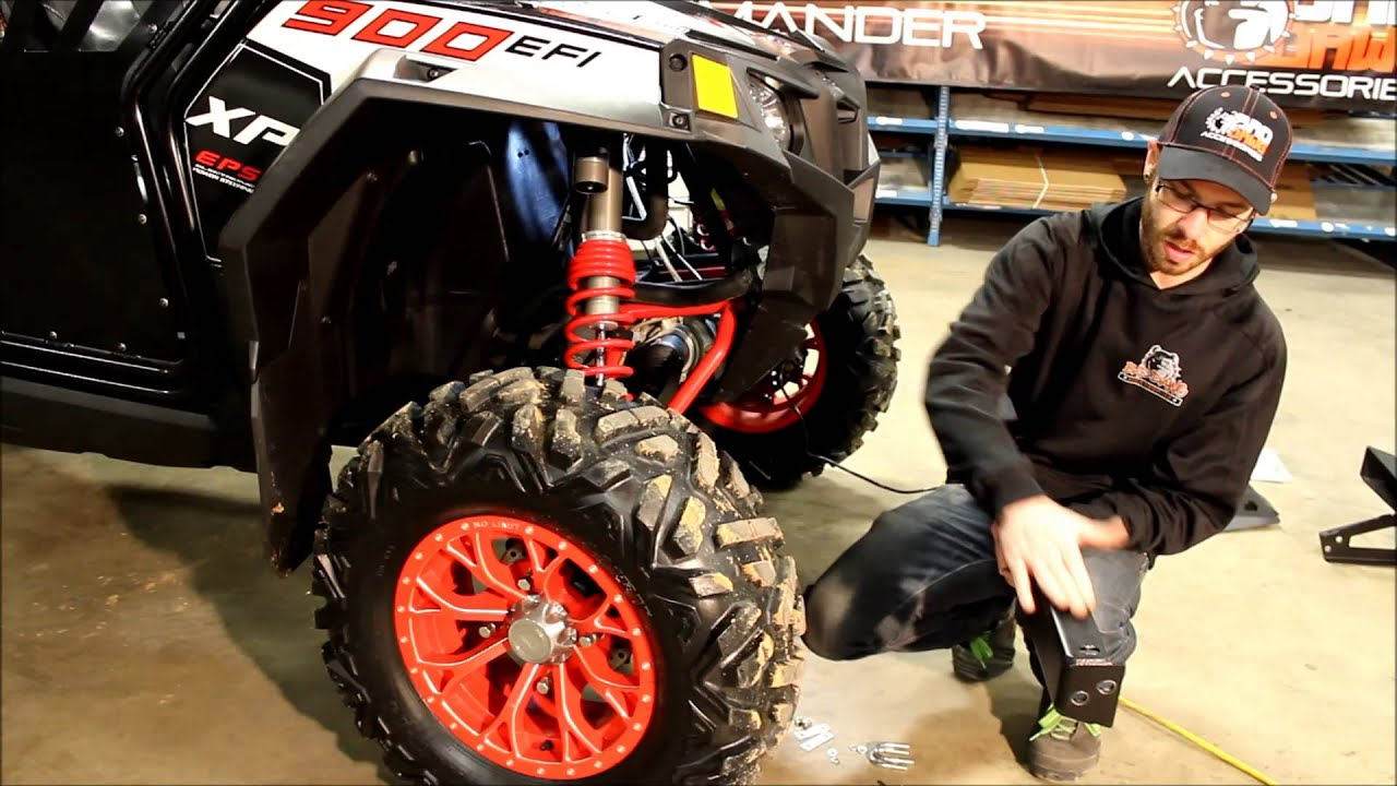 Bad Dawg Accessories RZR 900 Front Bumper