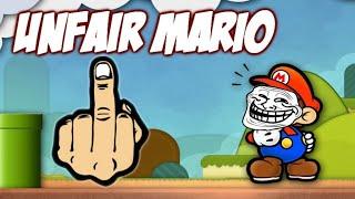 Estúpido troll - Unfair mario
