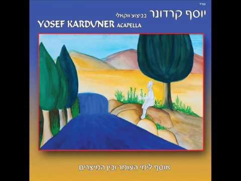 יוסף קרדונר - אני מאמין, גרסה ווקאלית לימי העומר ובין המצרים