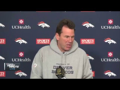 Broncos HC Gary Kubiak: Starting Peyton Manning is best for the team | NFL News