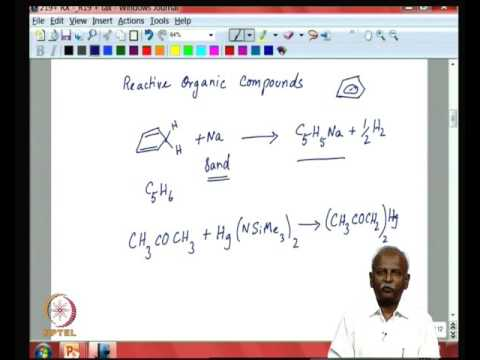 Metal alkyl complexes (Lecture)