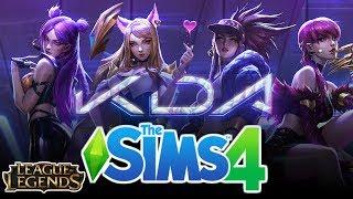 إنشاء Sim| ك/DA - البوب/ستار     الدوري من الأساطير +تحميل|لعبة The Sims 4