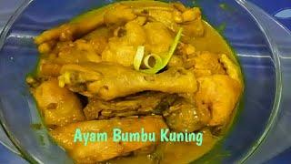 Resep Cara Membuat Ayam Bumbu Kuning