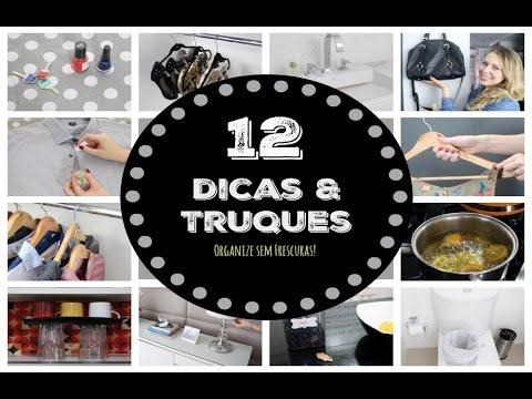 12 TRUQUES DE LIMPEZA E ORGANIZAÇÃO QUE VOCÊ DEVERIA SABER