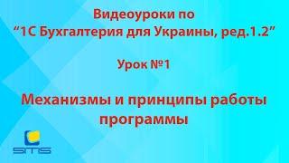 Обучение по программе 1С Бухгалтерия 8 для Украины. Урок 1