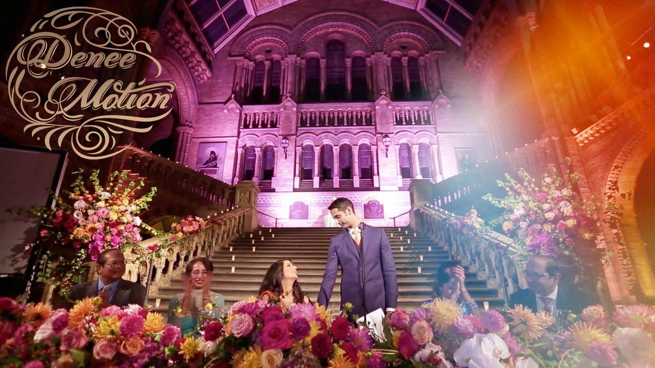 History museum wedding