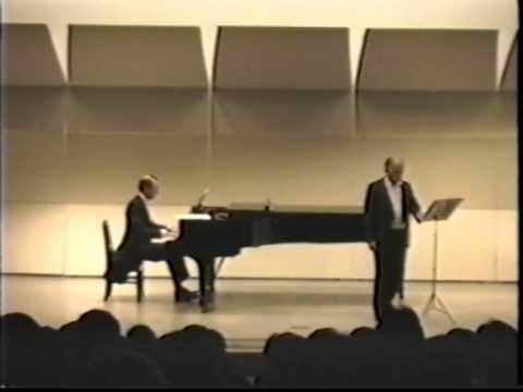 Piero Cappuccilli baritono - Ottobre 1989 Tokyo, Concerto privato