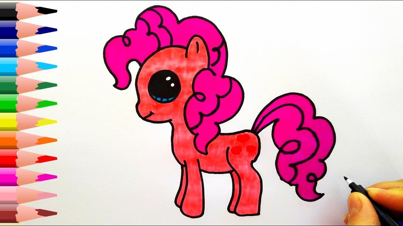 My Little Pony Pinkie Pie Nasıl çizilir How To Draw My Little Pony Pinkie Pie