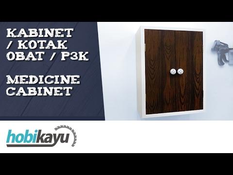 Membuat Kotak P3K / Kabinet Obat