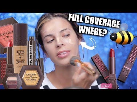 I TESTED BURTS BEES MAKEUP | SOME FLOPPED, SOME DIDNT