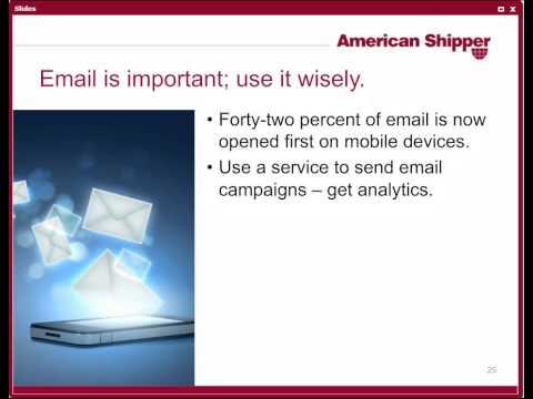 American Shipper Social Logistics Webinar