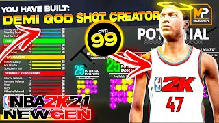 DO NOT MAKE YOUR BUILD UNTIL WATCHING THIS VIDEO! HOW I MADE THE #1 SHOTCREATOR ON NBA 2K21 NEXT GEN