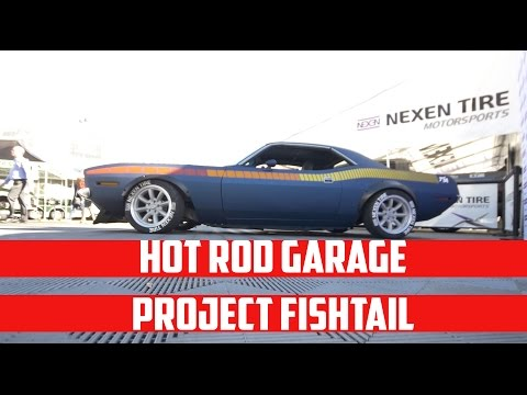 Hot Rod Garage Project Fishtail Cuda Walk Around with Tony Angelo