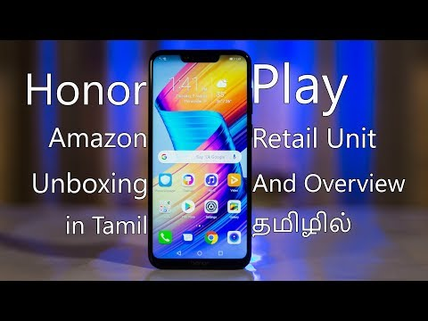 Honor Play Amazon Retail Unit Unboxing And Overview In Tamil!