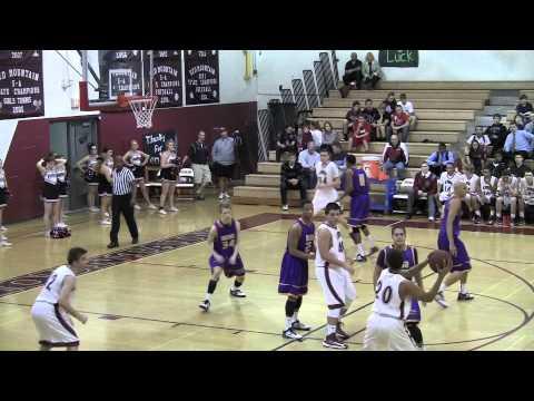 Sean Cahill #52  Highlights vs Mesa High 1-17-2013