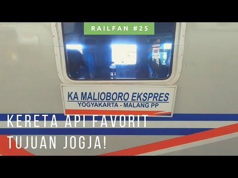 Kereta Api Malioboro Express Eksekutif Malang Yogyakarta Review