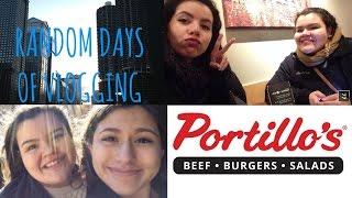 Gambar cover DOWNTOWN CHICAGO, OPENING MY HT CD & FOOD   HelloStayVlogging