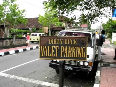 Bali, Ubud, Dirty Duck Restaurant