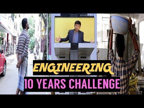 Engineering 10 Years Challenge | Types of Engineering 2009 - 2019 | Tamil | Dumil Udradhu