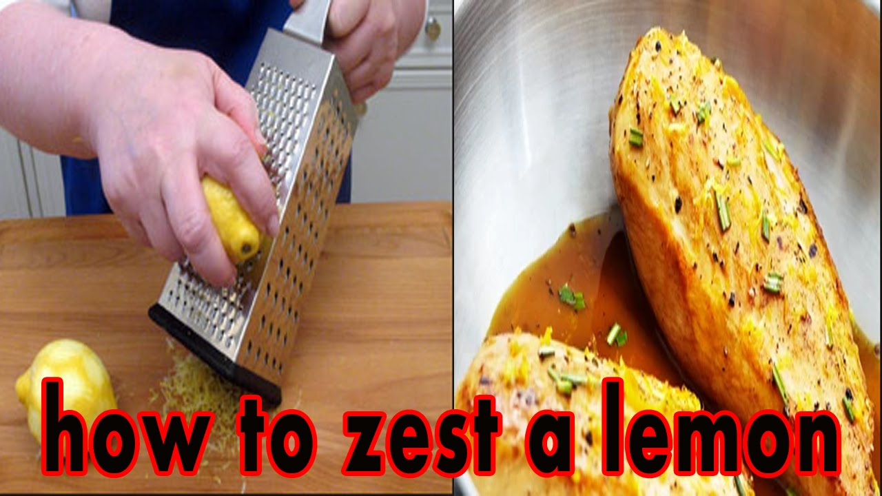 How Zest And Juice Lemon