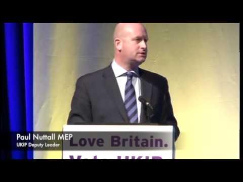 Rock Solid: Standing Up for Gibraltar. Paul Nuttall, UKIP Deputy Leader