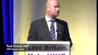 Rock Solid: Standing Up for Gibraltar. Paul Nuttall, UKIP Deputy Leader