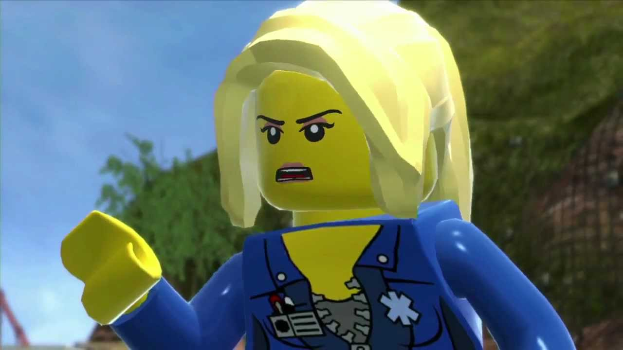 Lego City Undercover Natalia And Chase