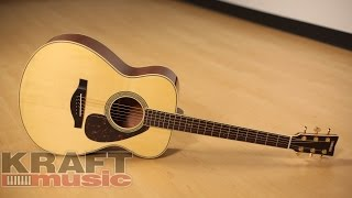 Yamaha LS6 ARE Handcrafted Acoustic Guitar Demo