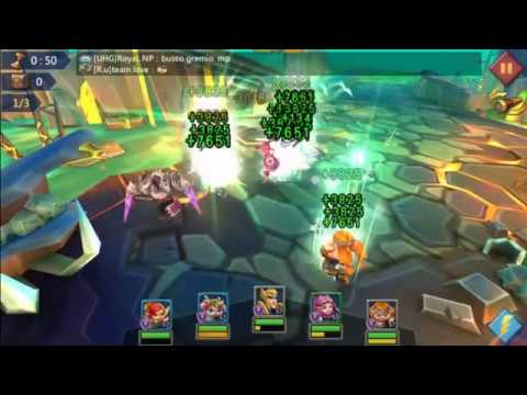 Lords Mobile Hero Stage Elite 7-6 F2P Using Level 57 Heroes