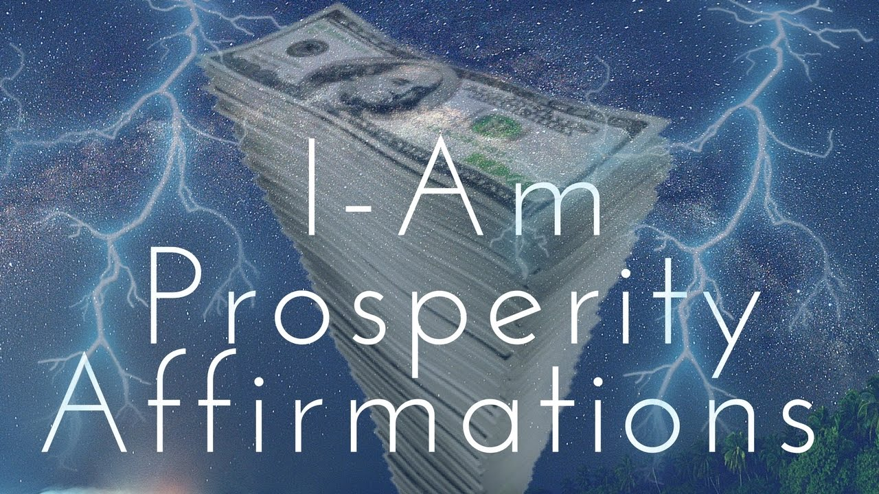 I Am Prosperity Affirmations Listen For 21 Days 432Hz