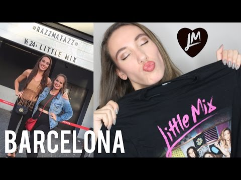 FREE TRIP TO BARCELONA WITH LITTLE MIX! | LexiLindon
