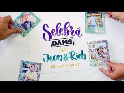 DAM$ - Selebrá  feat. Jeon & Rich (co prod. nvjee) (Official Lyric Video)