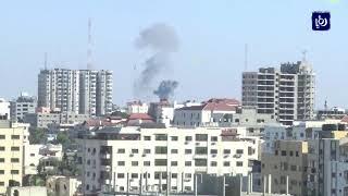 جيش الاحتلال يشن غارة على مواقع لكتائب القسام في غزة