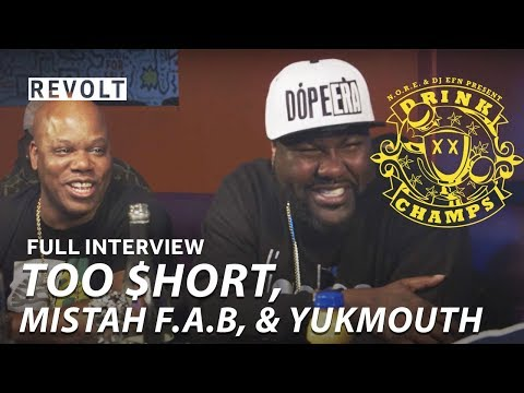 Too $hort, Mistah F.A.B., & Yukmouth | Drink Champs (Full Episode)