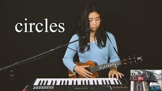 Post Malone - Circles (ukulele looping cover)