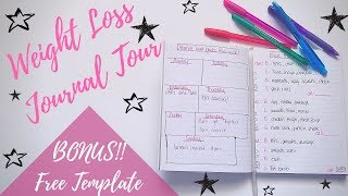 My Weekly Weight Loss Journal Tour   Planning out the week