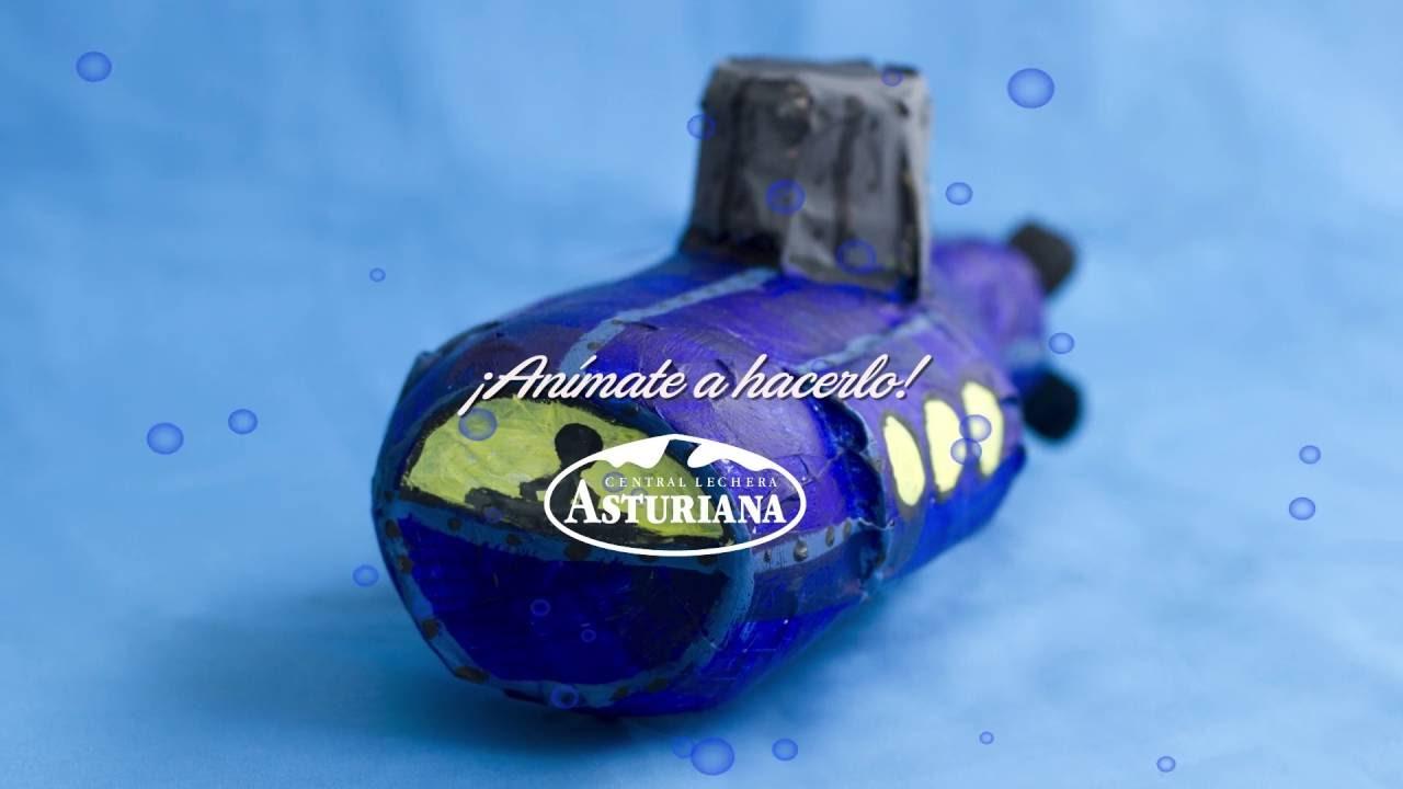 Cómo Central Lechera Una Leche Botella Con De Hacer Un Asturiana Submarino 0wN8vmnO