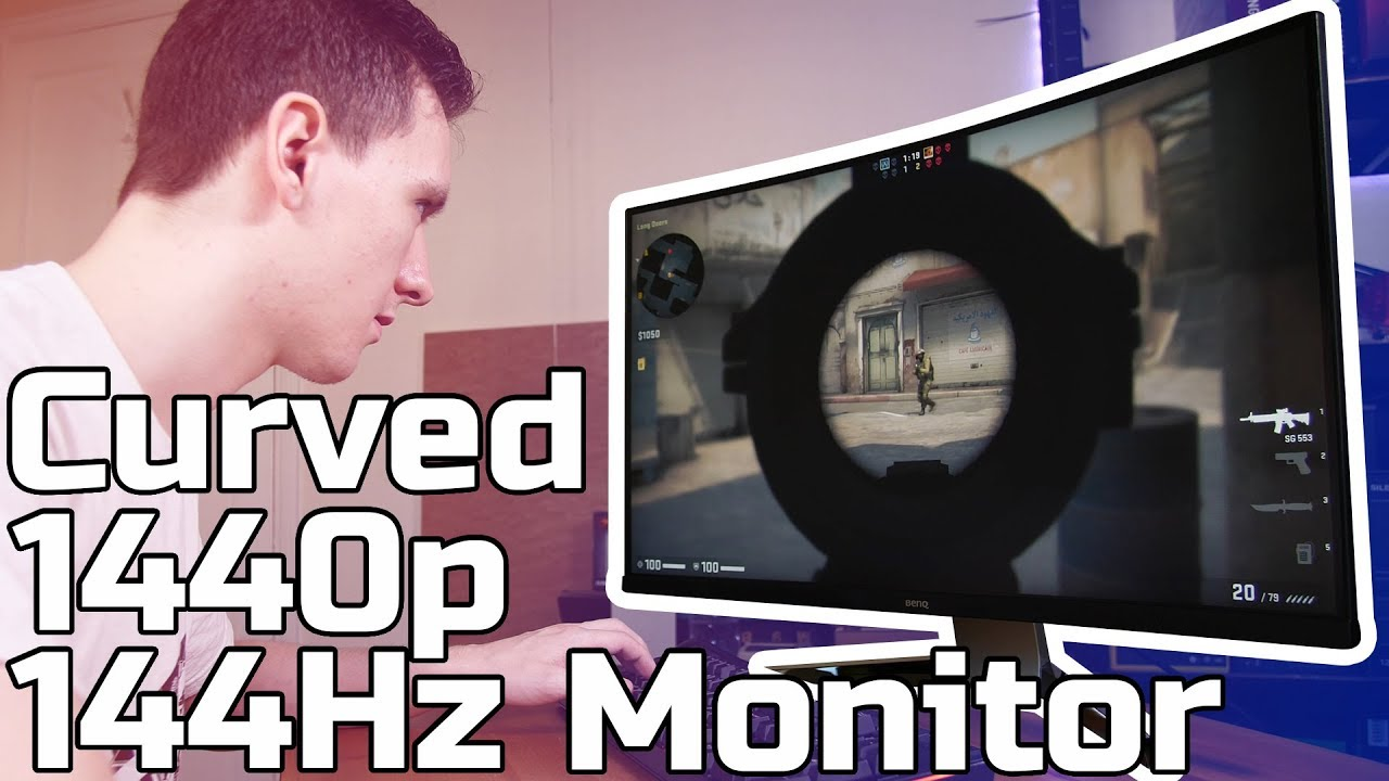 "1440P 144Hz Monitor 32"" curved 144hz 1440p hdr gaming monitor review"