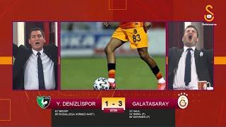📺 Yukatel Denizlispor-Galatasaray maçı sırasında GSTV'de gol anları!
