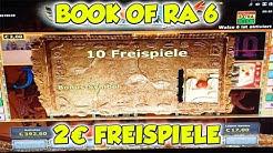 Book of Ra 6 Freispiele auf 2€ - Novoline Online Casino HD