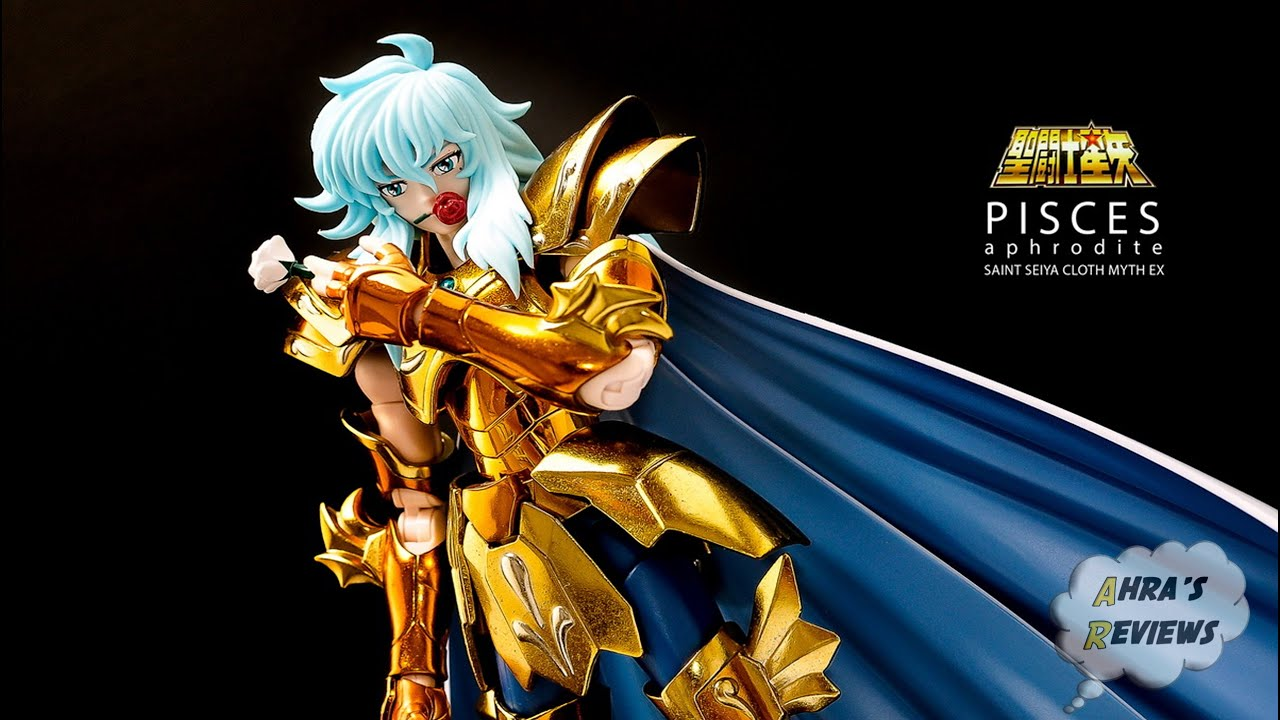 Action Figure Saint Cloth Myth EX Saint Seiya PISCES APHRODITE God Cloth