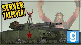GMOD - Admin Gives Me a Tank (DarkRP Server Takeover)